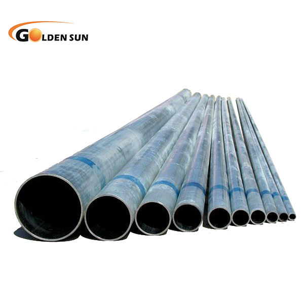 galvanized steel pipe zinc coated surface/ gi pipe / galvanized hollow section
