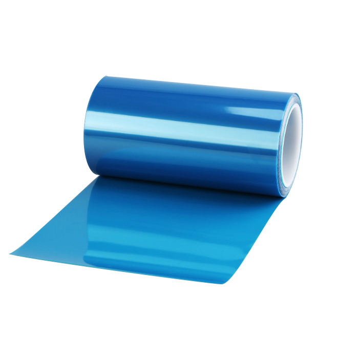 2019 Hot Sell Silicone Coated Plastic Blue Pet Release Film
