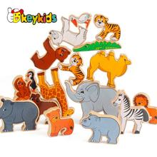 2021 New fashion wooden toy animal,most popular wooden animal toy,hot sale wooden toy animal W13A111
