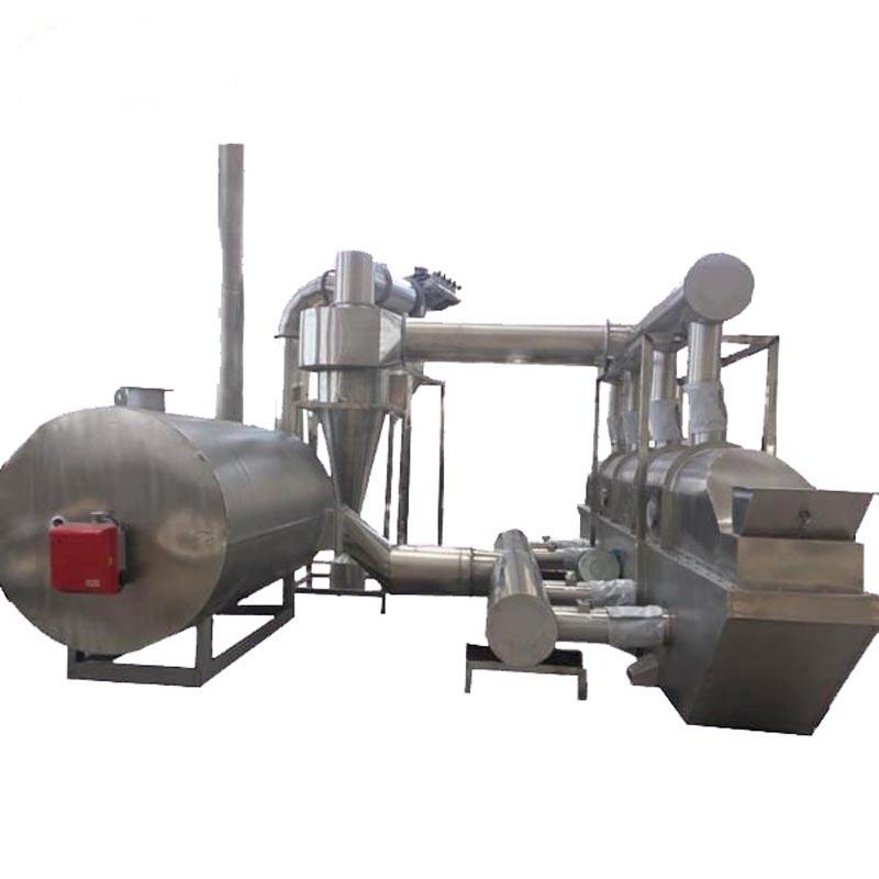 Cocoa Beans Continuous Fluid Bed Dryer Machine Vibrating Fluidized Bed Drying Machine
