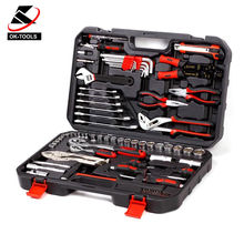 "Chrome Vanadium Professional 84PCS 1/2"" & 1/4"" DR. Socket Auto Repair Tools Set"