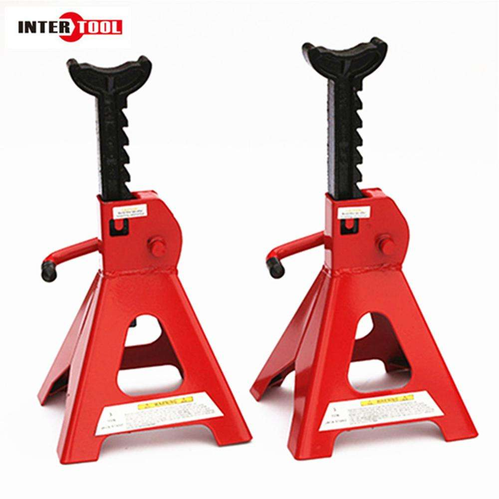 2/3/6/12Ton Jack Stand Adjustable Height Auto Shop Safety Tools Car Truck car jack