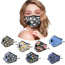 Washable Custom Printing Smog Masque Cotton Anti Air Pollution Mouth Face Dust Mask