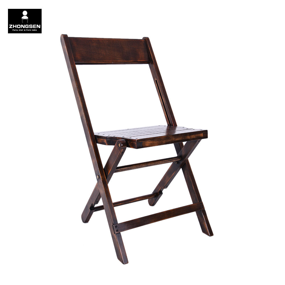 1942 Solid Beech Wood Gladiator Slatted Folding Chair