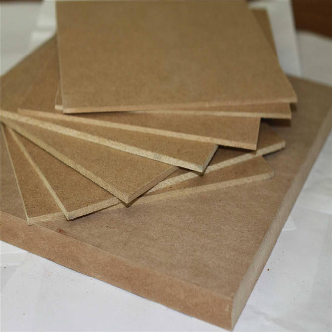 1830*3660*16mm big size plain MDF board for furniture