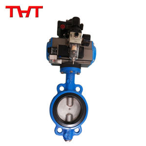 wafer air actuated butterfly valve
