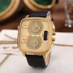 Original Brand Three Eyes Quartz Watches Cool Men Business W