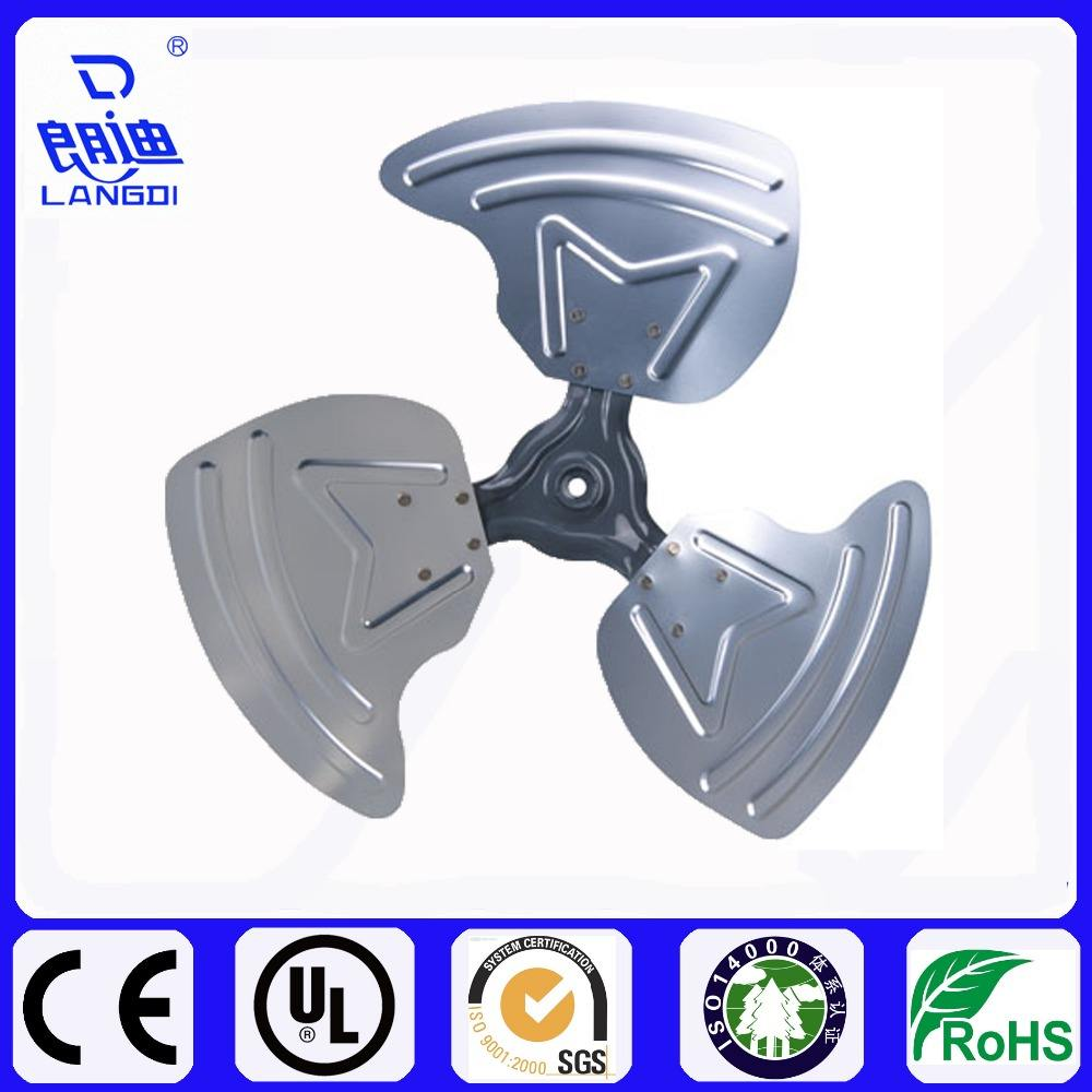High Quality Cheap Custom Metal And Plastic Axial Flow Fan Impeller Blade