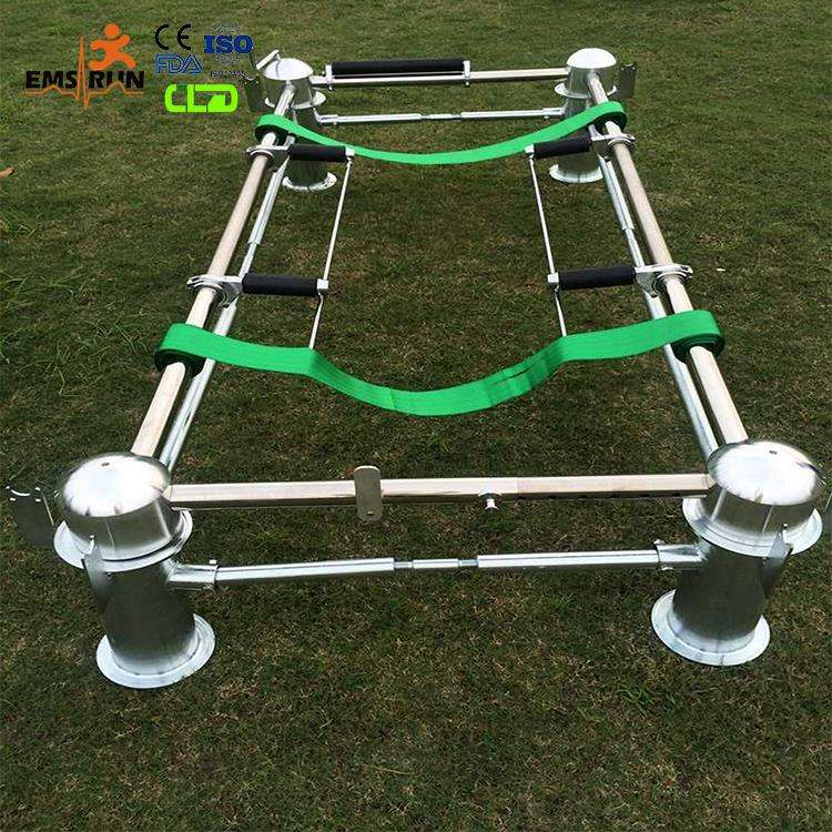 coffin trolley stainless lowering handle device funeral