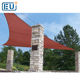 outdoor waterproof small triangle awnings patio canvas sail sun tarps canopy shade