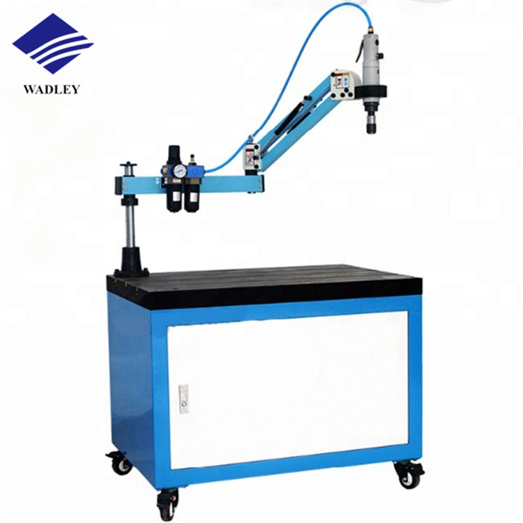 Low price flex arm industrial pneumatic electric pipe tapping machine M6-M30