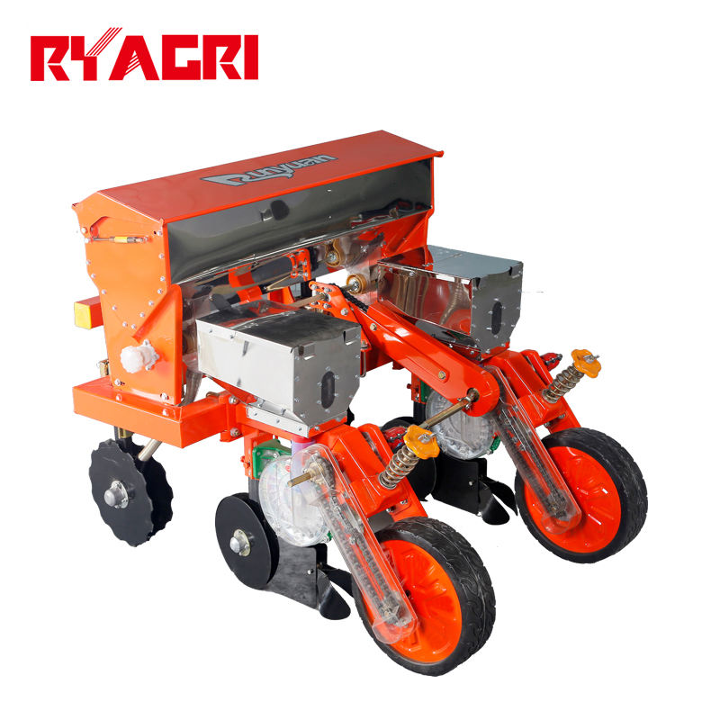 2 row tractor maize planter seed drill for sale