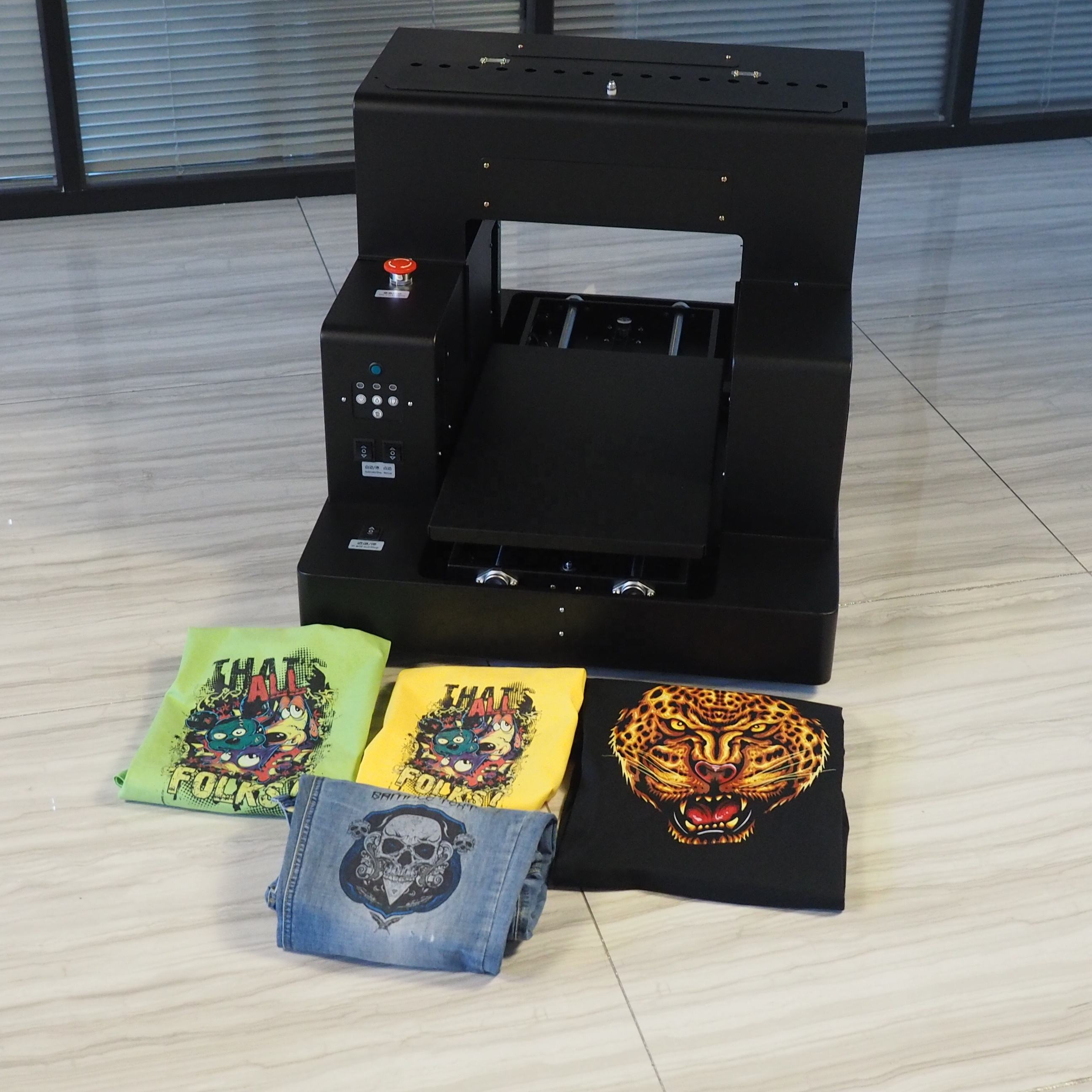 newest auto print A3 digital t-shirt printer for shoes,caps
