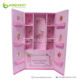 Cosmetic display stand/Make up kit rack/Cardboard Mask Promotion/Toy set showcase closet