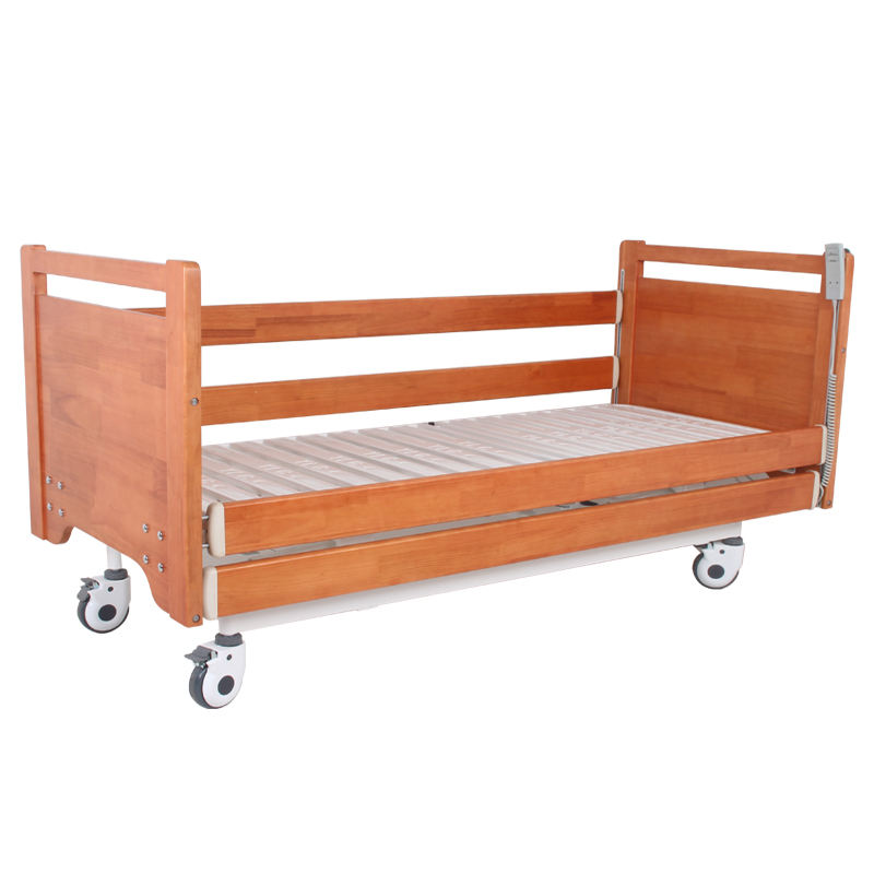 Cheap Prices Customized Dimensions Two Functions Medical Furniture Electric Wooden Hospital Bed Electrical manufacturer