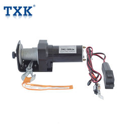 New 12v 12000lbs 5440kg high quality electric winch with dou