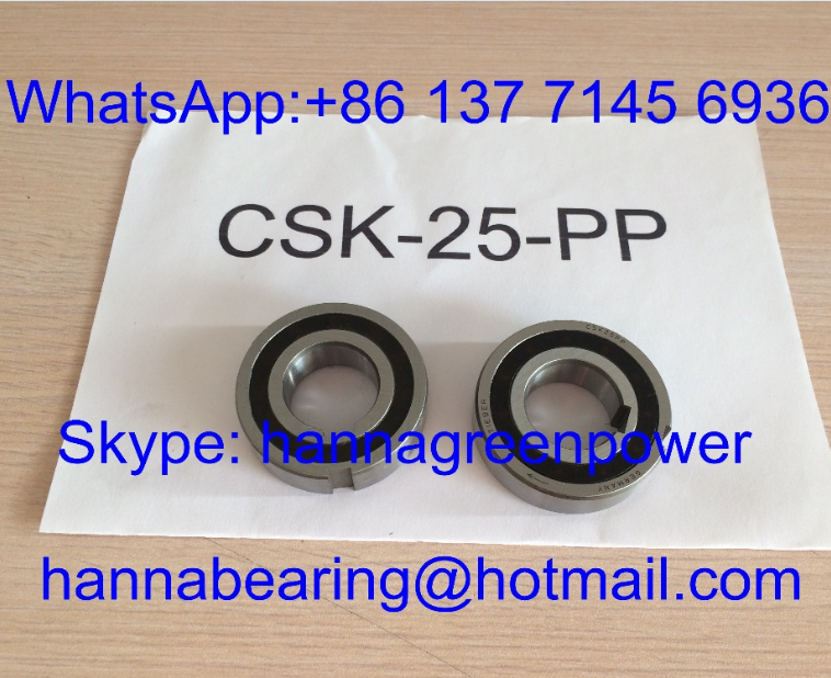 CSK25-2RS / CSK25RS/CSK25-RS/recto 25-2RS una forma embrague cojinete 25*52*20mm