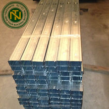 galvanized metal studs and tracks for drywall