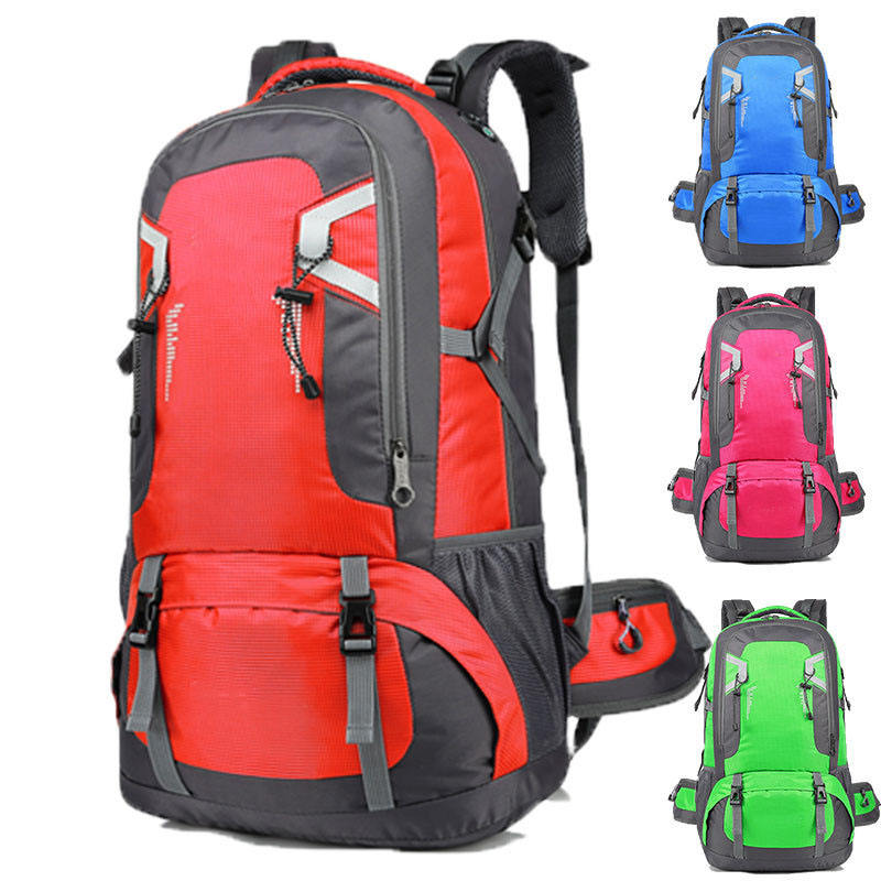 China manufacturer Light weight hiking backpack ripstop outdoor backpack customized logo