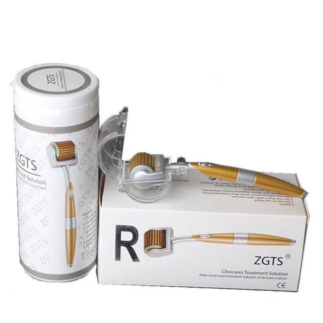 Most Popular Real Titanium Needles ZGTS 192 Derma Roller price derma rolling system