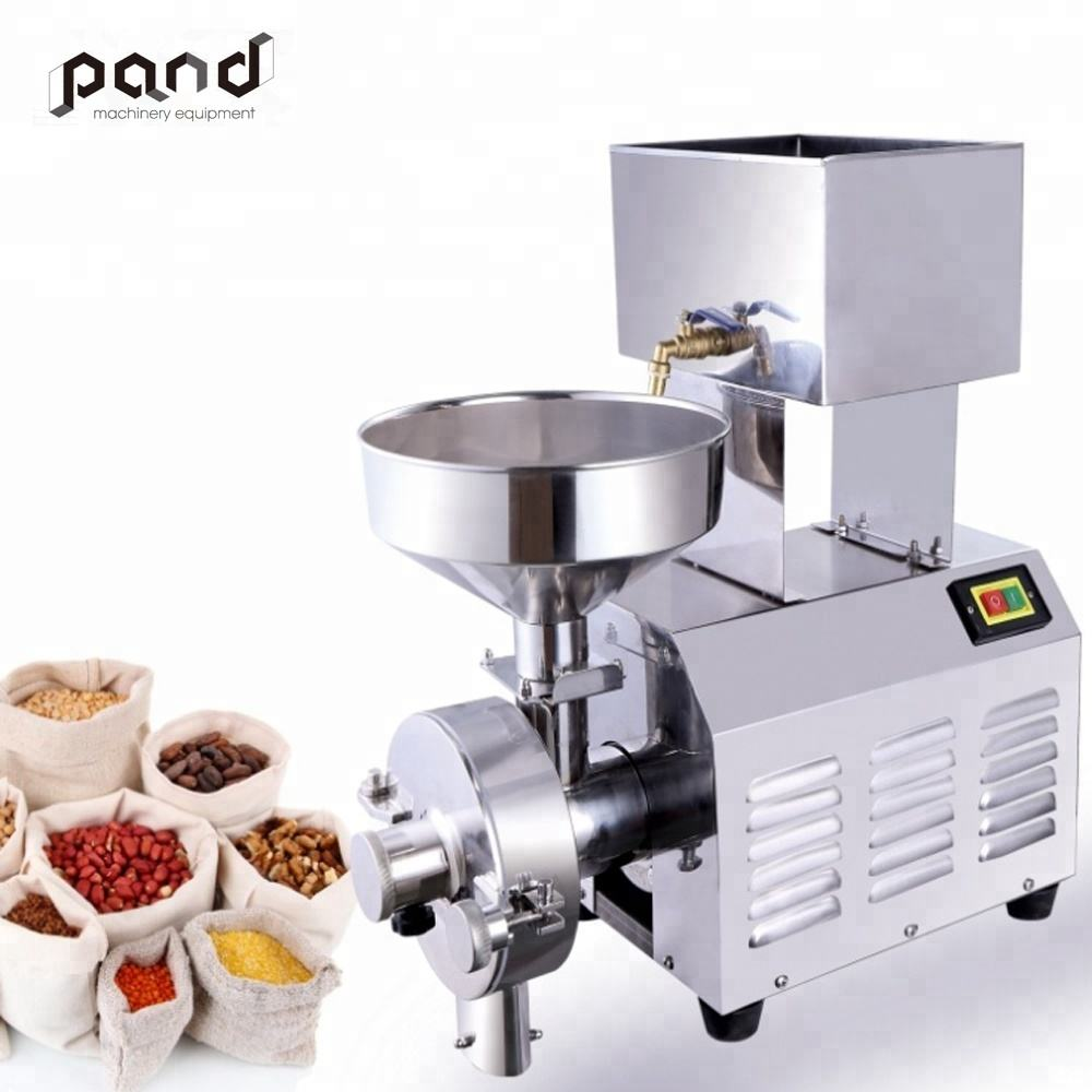Durable Wheat flour dry and wet grinding milling machine soybean rice milk making machine