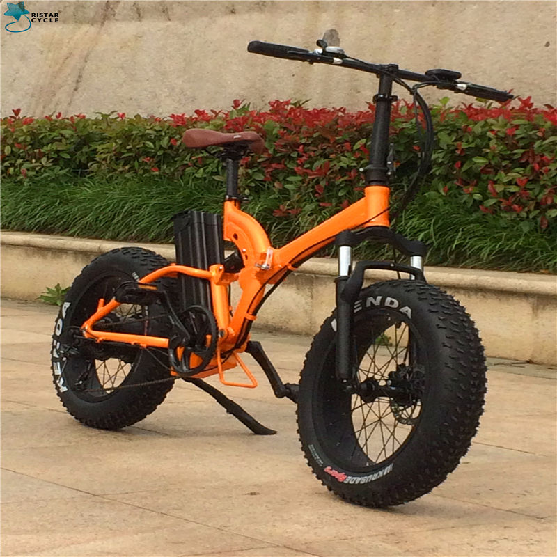 Professional Made full suspension frame Electric Bike/ Popular folding electric bicycle/ hot sale full suspension folding e bike