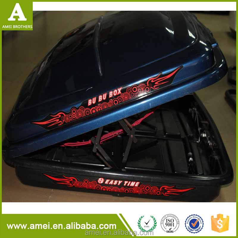 Free Design Custom Plastic Roof Top Carrier Car Roof Box