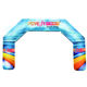 Inflatable Archinflatable Inflatable Arch PDyear Advertising Promotional Logo Tradeshow Fabric Print Race Events Sports Inflatable Air Arches Gate