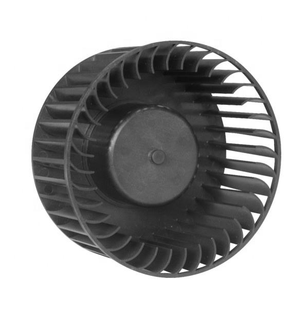 Toyon silent fan RoHs 128 x73 mm plastic blades forwarded curved centrifugal blower fan for ventilation unit