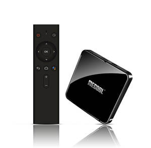 Google certificado Android TV s905x2 tv box 4gb ram 64gb android 9,0 MECOOL KM3 mini pc