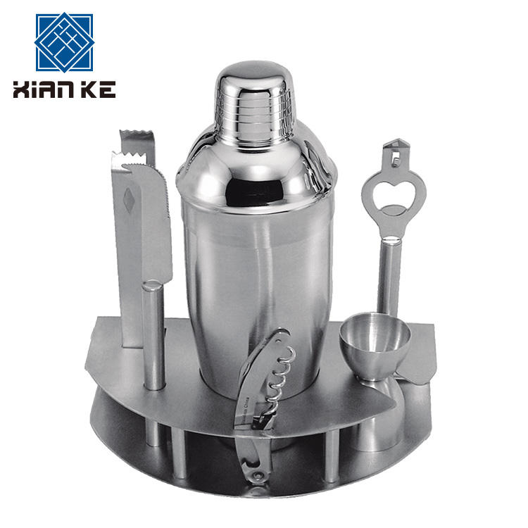 Barware Supplier Luxury Stainless Steel Bartender Kit