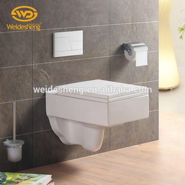 <span class=keywords><strong>Nuevo</strong></span> estilo lavado de cerámica de una sola pieza barato <span class=keywords><strong>inodoros</strong></span> pared botón higiénico