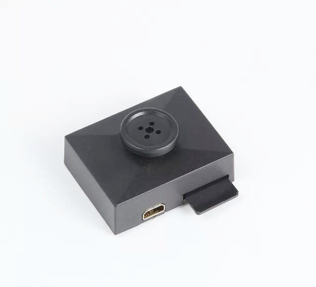 HD 1080P hidden spy button camera video + photo +Motion detection recording
