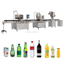 Automatic Small Scale Juice Filling Machine / Machinery / Equipment
