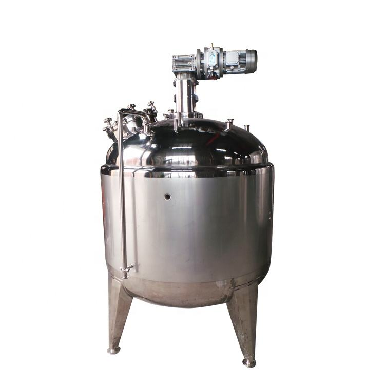 stainless steel additives 1000l milk slurry food mixing tank