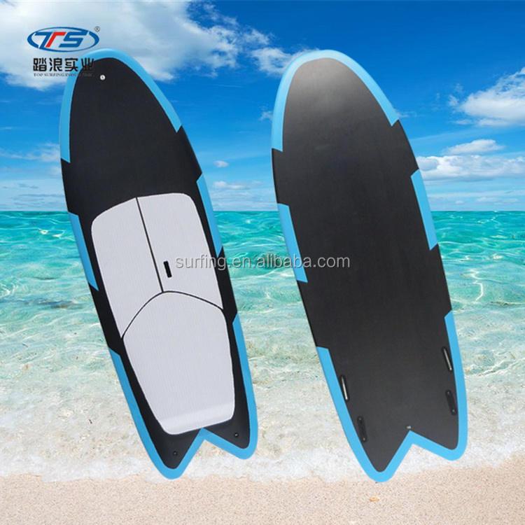 Customized New Design EPS Fiberglass Fish Tail Wake Surf Board Wakeboard Boat