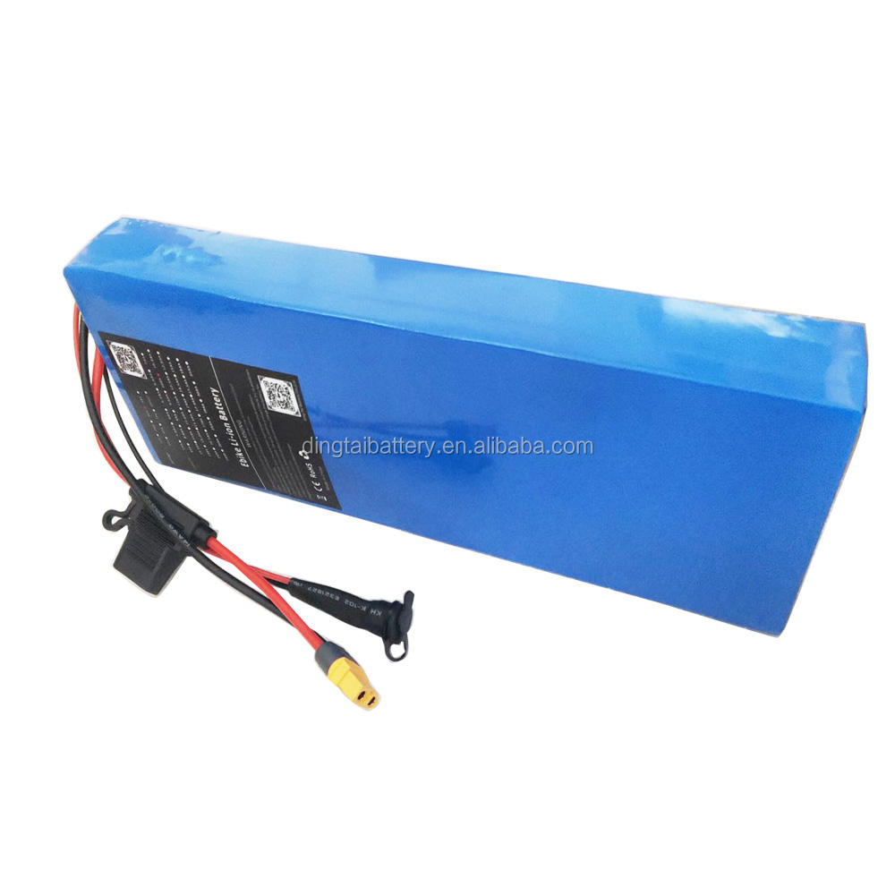 Whole sale E scooter lithium battery pack 36V 10Ah 11Ah 12Ah 13Ah 14Ah insert ebike battery pack with built in BMS