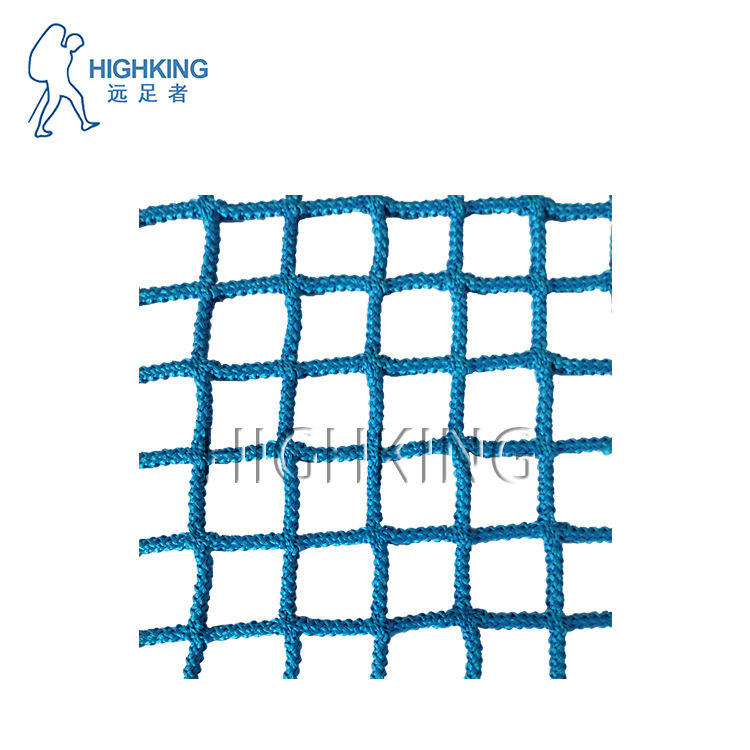 climbing cargo safety net with polyester