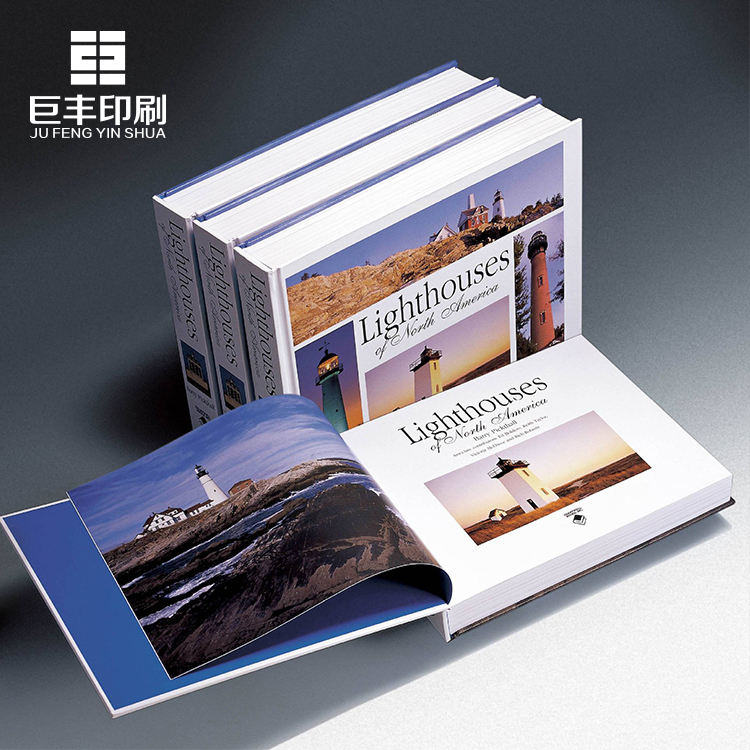 2019 Chinese high quality art paper glazing finishing printing introduction turning over book