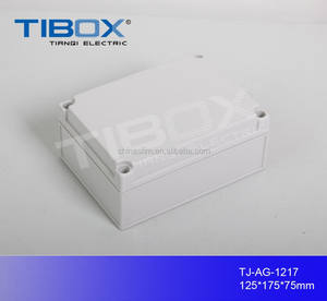 TIBOX hot sale high quality ABS plastic waterproof knockout switch junction cable gland box enclosure housing
