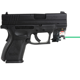 Subcompact pistol mounted 532nM laser beretta gun with 80lm LED flashlight