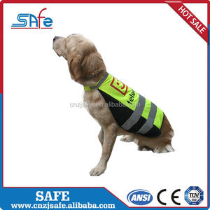 Wholesale reflective products dog safety jacket pet vest