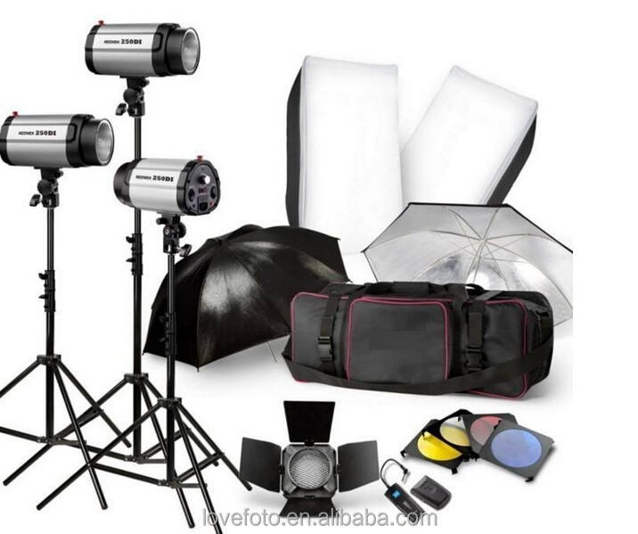 godox Photo Studio Flash Lighting set Digital Photography Strobe Light & Softbox Portrait Kit