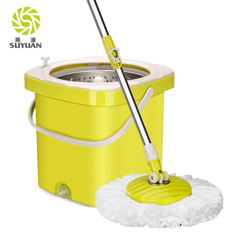 Cheapest price pp material cleaning plastic round mop bucket