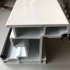 Reliance china leverancier custom upvc pp pvc plastic extrusie profielen