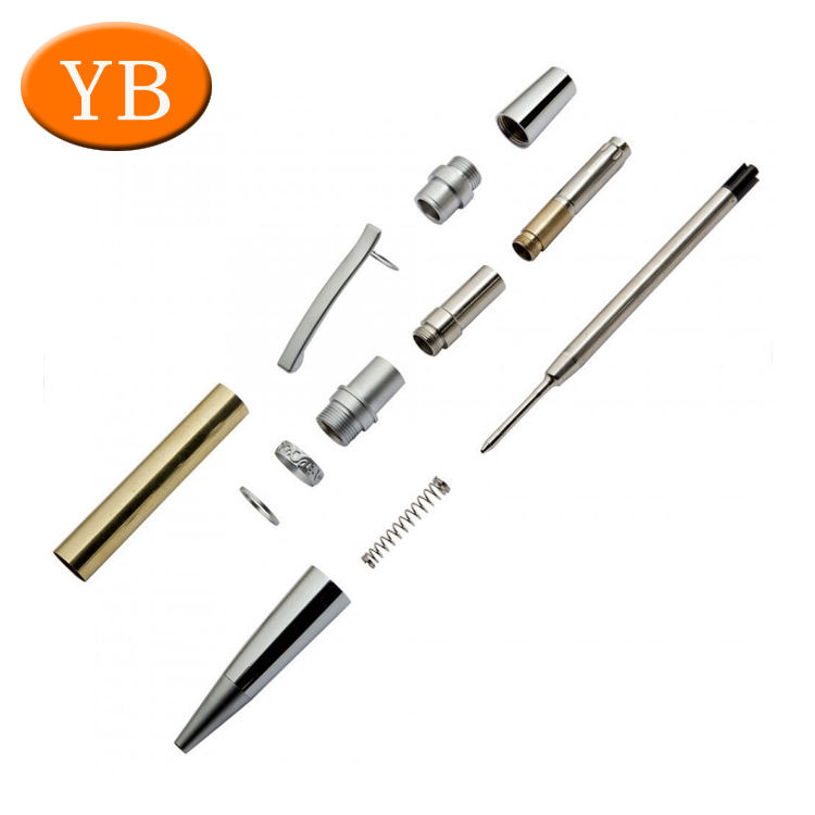 custom farbrication service cnc pen tube turning part