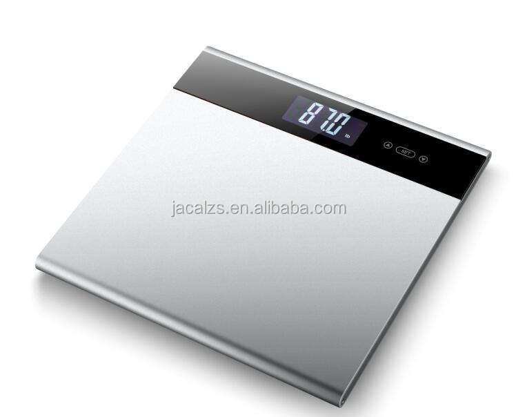 aluminium body fat analyzer BMI function weight/calorie /water/ bone/body fat/ muscle/BMI