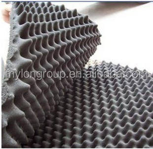 China Wholesale Studio Wave Fireproof Breathable Sound Proofing Sponge
