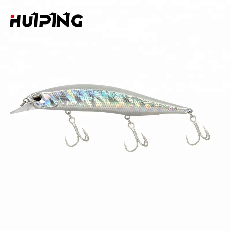 Lures Fishing Wholesale 135mm 17g Big Floating Minnow Lure Artificial Bass Fishing Bait Wobbler 120F M084