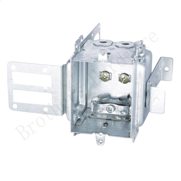Galvanized Steel high volt device boxes with bracket